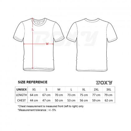 BOXY Microfiber Round Neck Plain T-shirt (Irish Green)