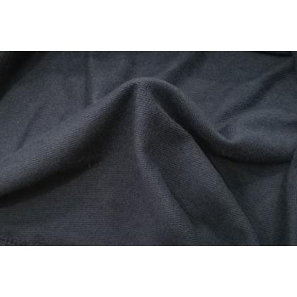 BOXY Ladies Baju Long Sleeves Fleeced Sweater - Navy