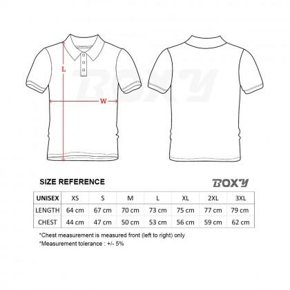 BOXY Microfiber Classic Short Sleeve Polo Shirt (Navy)