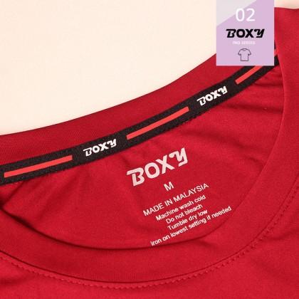 BOXY Pro-series Women's Microfiber Round Neck Tee